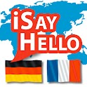 iSayHello German - French icon