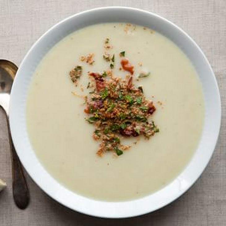 Cauliflower Soup With Crispy Shallots Recipes — Dishmaps