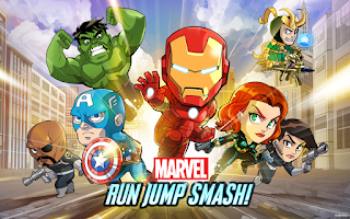 Screenshot of Marvel Run Jump Smash!
