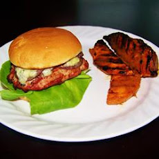 Mushroom Blue Cheese Turkey Burgers