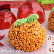Pumpkin Spiced Rice Krispies