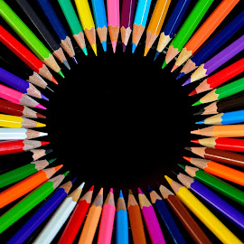 color circle by Nikša Šapro - Artistic Objects Education Objects ( d7100, saproni, nikon )