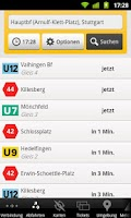 Screenshot of FahrInfo Stuttgart