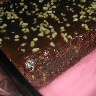 Chocolate Brownies with Kahlua