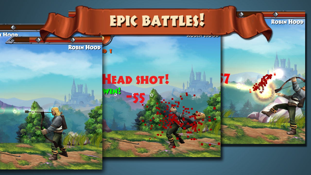 Robin Hood - Archery Games PVP Screenshot 12