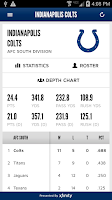 Screenshot of Indianapolis Colts Mobile