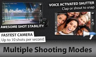 Screenshot of Camera ZOOM FX