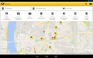 Screenshot of Post mobil