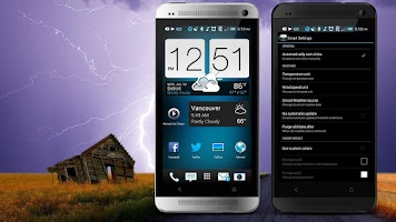 Screenshot of World Weather Clock