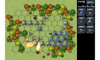 Screenshot of Aliens Defense