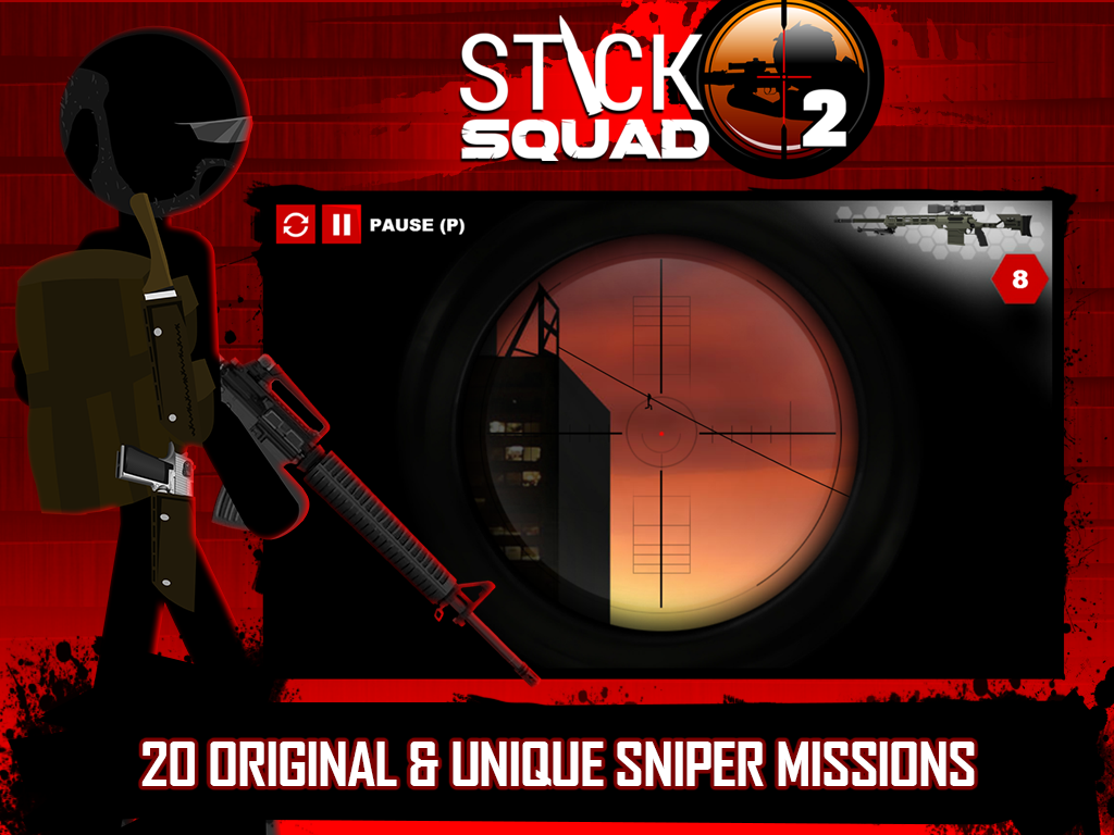 Stick Squad 2 - Shooting Elite Screenshot 8