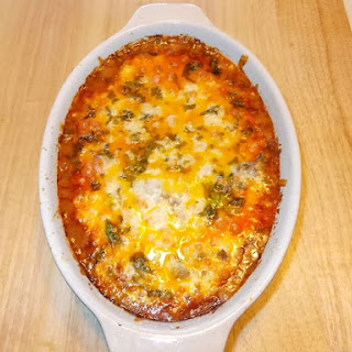 Too Easy Chile Relleno bake