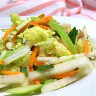 Jicama, Carrot, and Green Apple Slaw