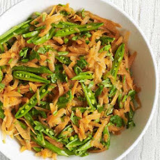Carrot & Sugar Snap Salad