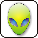 Alien Head green doo-dad icon
