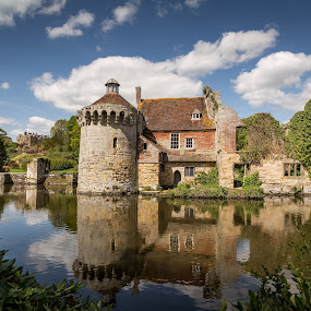 by Kevin Standage - Buildings & Architecture Public & Historical ( canon, england, trust, kent, national, scotney, castle )