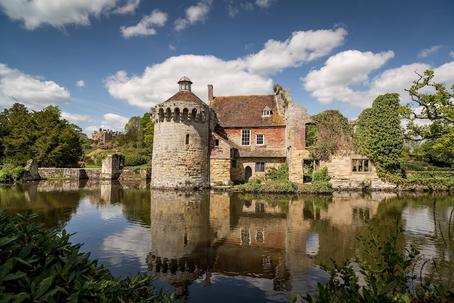 by Kevin Standage - Buildings & Architecture Public & Historical ( canon, england, trust, kent, national, scotney, castle )