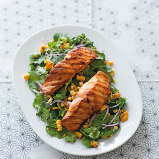 Spiced Fish With Chargrilled Corn Salad