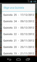 Screenshot of QuiniMas ( Quiniela )