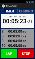 Screenshot of ChronoTimer
