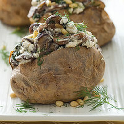 Spinach-and-Feta Potatoes