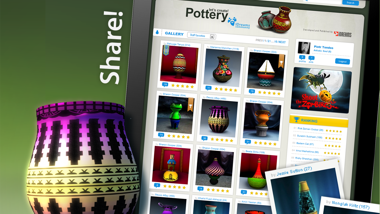 Let's Create! Pottery Screenshot 12