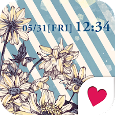 Cute wallpaper★Vintage Blue*