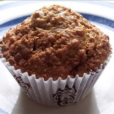 Lighter, but Scrumptious Oatmeal Raisin Muffins :)