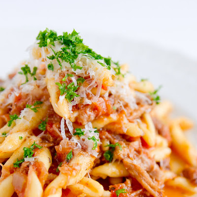 Pork Sugo with Strozzapreti