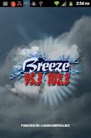Screenshot of 95.3 & 102.3 The Breeze