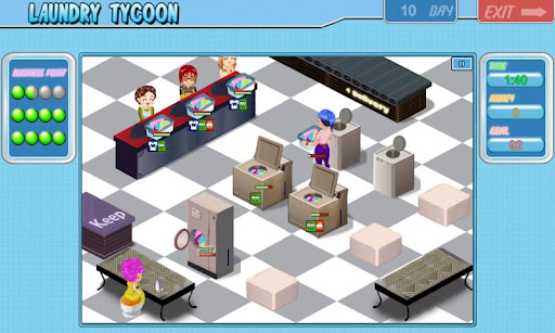 Laundry Tycoon HD