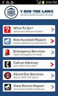 Accident App by 1800THELAW2 - screenshot