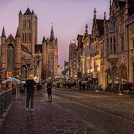 Gent by Ева Йорданова - City,  Street & Park  Street Scenes ( Travel, People, Lifestyle, Culture )