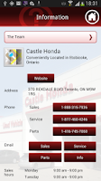 Screenshot of Castle Honda