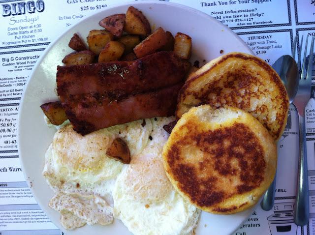 Gluten free breakfast goodness!!