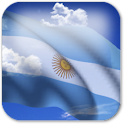 3D Argentina Flag icon
