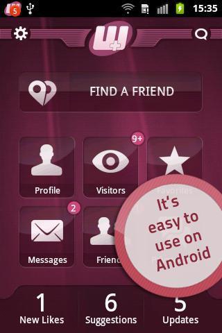 Waplog-chat-dating-flirt for android screenshot