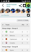 Screenshot of Brazil Football World Cup 2014