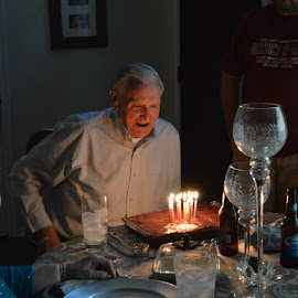 Birthday Boy by Penny Lindsey - People Portraits of Men
