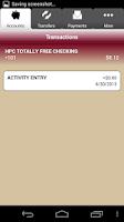 Screenshot of First Financial Bank