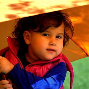 by Selçuk Özkan - Babies & Children Child Portraits ( child, girls, umbrella, children, kid )