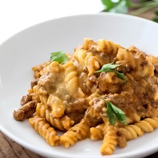 Homemade Cheeseburger Macaroni
