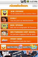 Screenshot of NICKELODEON