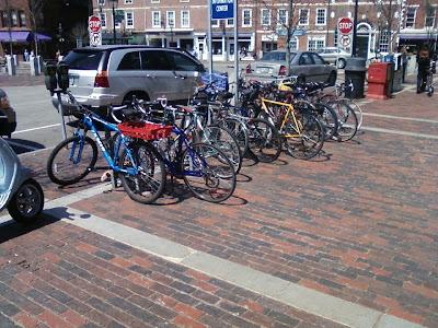 Bike Rack, Portsmouth New Hampshire