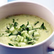 Uncle Bill's Kvas (Cold Cucumber Soup)
