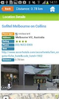 Screenshot of Melbourne Guide Map & Hotels
