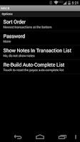 Screenshot of MBCB - Simple Checkbook