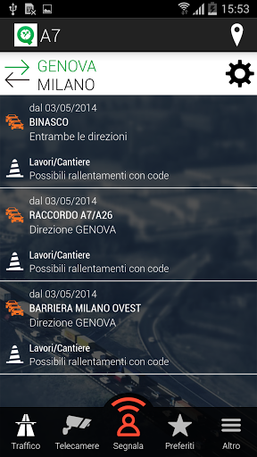 CODE STRADALI APP ANDROID