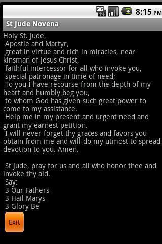 A Saint Jude Novena