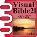 Visual Bible 21 KJV + GNT icon